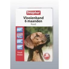 Beaphar Flohhalsband Hund Rot 6 Monate wirksam
