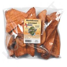Antos Crispy Rinderohren Smoked für Hunde