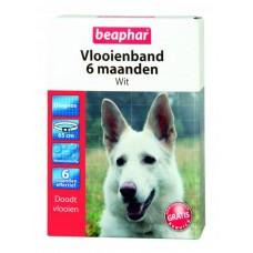 Beaphar Flohhalsband Hund Weiss 6 Monate wirksam