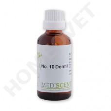 MediScent Dermil - Bio Tinktur für Pferde bei Sommerekzem Hautbeschädigungen.