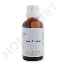 MediScent Lamil - Bio Tinktur für Pferde bei Hufrehe Stoffwechsel.
