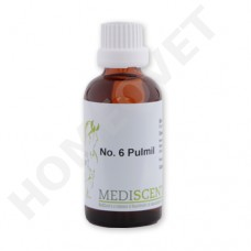 MediScent Pulmil  -  Bio Tinktur für Tiere bei Husten, bei Hüsten trocken oder verschleimt, bei Krampfhusten