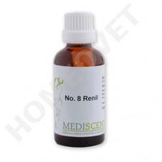 MediScent Renil - Nieren Tonikum - Bio Tinktur für Tiere bei chronische Niereninsuffizienz sowie Schrumpfnieren