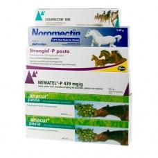 A1 Anti-Wurmpaste Packet Vorteilspackung Ivermectin - Pyrantel - Febendasol