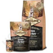 Carnilove Large Breed Puppy Lachs und Truthahn