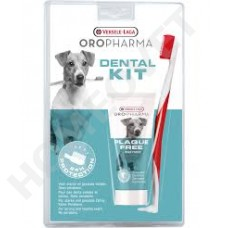 Oropharma Dental Kit Zahnpaste und Zahnbürste.
