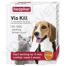 Beaphar Floh Kill+ Katze und Hund bis 11 KG, Tabletten