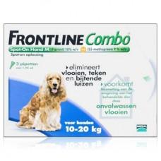 Frontline Combo Spot-On fipronil s-methopren für Hunde 10-20 kg