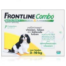 Frontline Combo Spot-On fipronil s-methopren für Hunde 2-10 kg