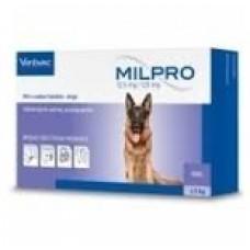 Milpro Entwurmungstabletten für große Hunde