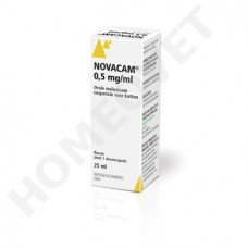 Novacam 0.5 mg - ml Meloxicam Katze