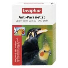 Beaphar Anti - Parasit 25 Vögel bei Würmer, Milben, Luftsackmilben Blutläuse usw.