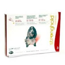 Stronghold Hund 10.1 bis 20 kg  gegen Spul-, Rund-wurmer  Milben und Flöhe bei Hunden