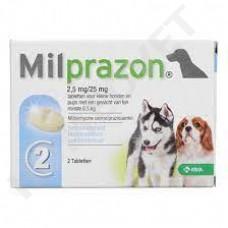 Milprazon Entwurmungstabletten für kleine Hunde und Welpen